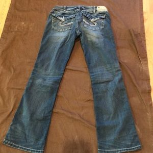 Silver Tuesday low boot jeans. W30/L31